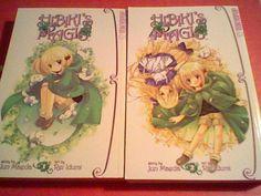 2 Hibiki's Magic manga vol 1 & 2 , Jun Marda ,Rei Idumi ,Tokyopop =)