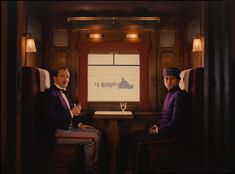 Decoraiton : With his last movie,The Grand Budapest Hotel, Wes Anderson not only confirms thathe's a brilliant director but also reveals that he could . Grand Budapest Hotel, Grand Hotel, Movie Shots, I Movie, Movie Scene, Iconic Movies, Good Movies, Wes Anderson Films, Movies