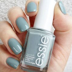 Such a year-round color – ice-blue for winter, blue sky for summer. x