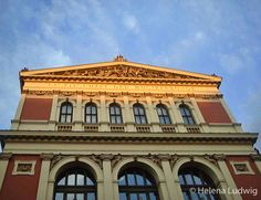 """The Wiener Musikverein (Viennese Music Association), commonly shortened to """"Musikverein"""", is one of the most famous concert halls. It is the home to the Vienna Philharmonic orchestra, imho the worlds best! In the golden hall, the famous annual Vienna New Year's Concert is held. Image by Helena Ludwig"""