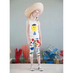 Bobo Choses Artist Kid Tank Top and Bobo Choses Matisse Kid Short Leggings.SS16 - Der Blaue Reiter - Spring summer kids fashion