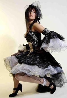 Robe gothique Lolita MC.