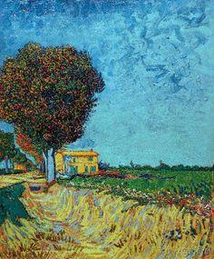 vincent van gogh malningar akvareller teckningar