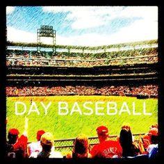 Day baseball poster. Nice.