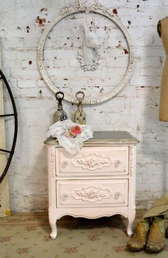 Painted Cottage Chic Shabby French Romantic by paintedcottages, $195.00