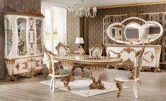 Baroque Furniture, Luxury Dining Room, Luxury Sofa, Dining Set, Living Room Furniture, Decor, Dinning Set, Hall Furniture, Decoration