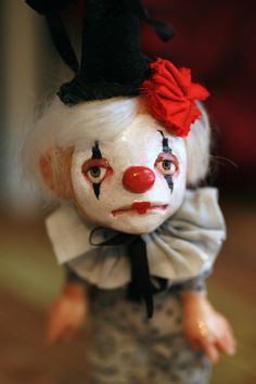 sad clown | Flickr - Photo Sharing!