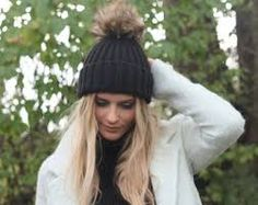 Image result for blogger fur beanie