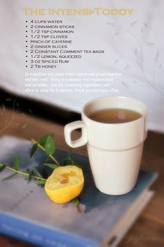 hot toddy redesigned specifically to fight cold symptoms. Will try this next time.