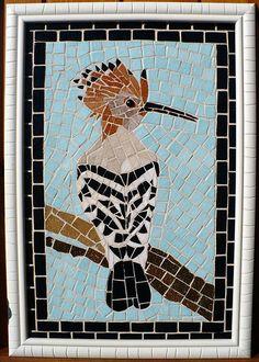 Cute #mosaic #bird #mosaicanimals #mosaicbirds