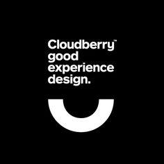 New Visual Identity for Cloudberry by Perky Bros - BP&O - Typo Logo Design, Best Logo Design, Brand Identity Design, Typography Logo, Logo Branding, Branding Design, Round Logo Design, Logo Desing, Circle Logo Design
