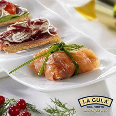Paquetito de salmón relleno de La Gula del Norte