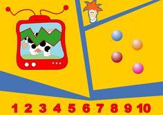 Digibord spelletje voor de kleuters