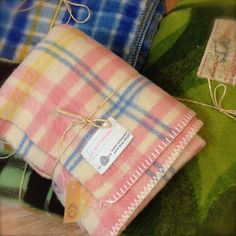 Vintage dekens Vintage blankets