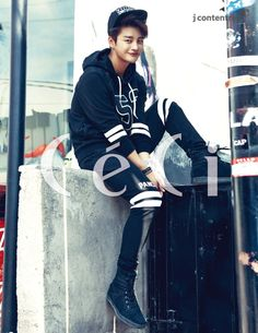 Seo In Guk - Ceci Magazine October Issue