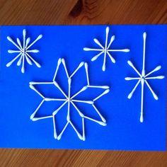 New Craft Winter Diy Snow Flake 52 Ideas Winter Activities, Christmas Activities, Craft Activities, Preschool Crafts, Kids Crafts, Winter Diy, Winter Crafts For Kids, Art For Kids, New Crafts