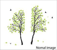 Tree Bird Flower Kids Window Wall Stickers/Wall decal | eBay