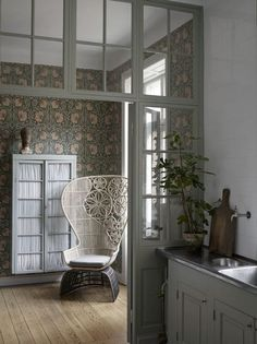 Glas wall. Photo from Lotta Agaton's portfolio.