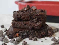 Chocolate Sweet Potato Brownies - the Paleo way