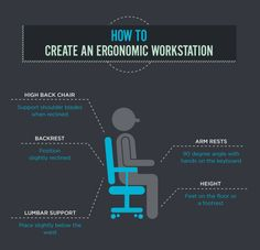 How to Create An Ergonomic Workstation