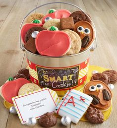 A+ Smart Treats Pail   Back to School Ideas   Cheryls.com  Send a sweet treats to all of your A+ students! A great way to say congratulations or send encouragement.