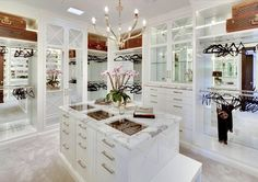 dream walk in closets - Google Search