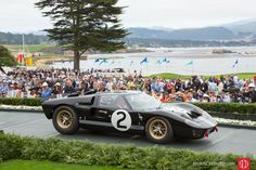 The 1966 Le Mans-winning Ford GT40 Mark II.