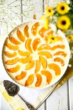 Mehevä persikka-rahkapiirakka - Suklaapossu Easter Recipes, Nom Nom, Sweet Tooth, Sweets, Baking, Ethnic Recipes, Desserts, Food, Sweet Stuff