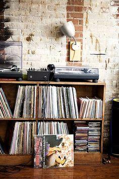 Colección de discos.
