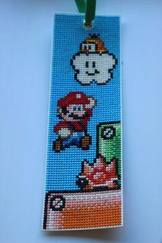 Super Mario bookmark