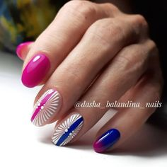 50 Beautiful Nail Art Designs & Ideas Nails have for long been a vital measurement of beauty and Toe Nail Art, Easy Nail Art, Toe Nails, The Art Of Nails, Short Nails Art, Shellac Nails, Pink Nails, Short Nail Designs, Nail Art Designs