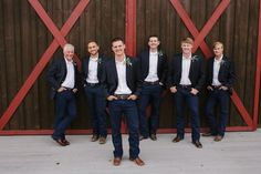 Devil's Thumb Ranch | Casual groomsmen attire |jeans and boots | Rustic chic Colorado mountain wedding