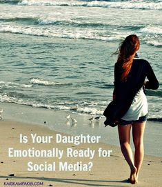 Social media can do a number on a girl's psyche (and her mother's). Before letting her get an account, consider this question: Is my daughter emotionally ready for Instagram?