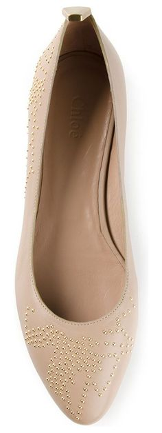 NorthStar --- Flats  CHLOE nude ballerinas found at Nudevotion.com