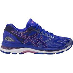 Asics Women's GEL-Nimbus 19 Running Shoes, Blue
