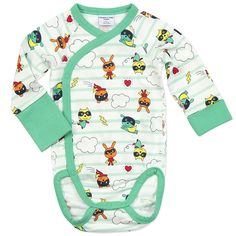 62 Polarn O. Pyret UK & Ireland SUPER HERO NEWBORN BABY BODYSUIT