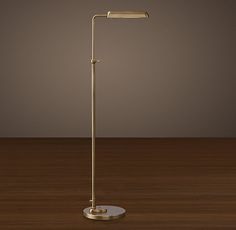 1930s Parisian Task Floor Lamp
