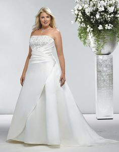 Wedding Dresses for the larger sized brides....because you\'re worth ...
