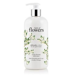 philosophy field of flowers orange blossom shampoo shower gel bubble bath available at Nordstrom Cosmetic Packaging, Beauty Packaging, Cosmetic Labels, Philosophy Products, Bath Gel, Cosmetic Design, Body Cleanser, Bubble Bath, Orange Blossom
