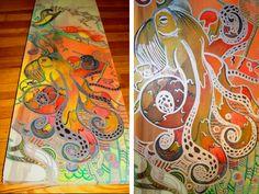 colorpush: Original Paintings by Caroline V. King