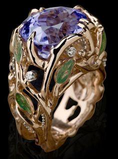 Cynthia Renée, Inc. Wisteria ring