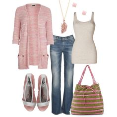 Pink Puma Casual, created by hvershure on Polyvore