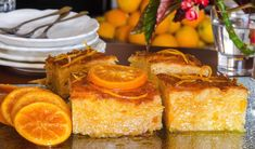 Greek Desserts, Greek Recipes, Creme Brulee Cheesecake, Cake Recipes, Dessert Recipes, Confectionery, French Toast, Deserts, Food And Drink