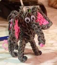 Rainbow Loom Elephant
