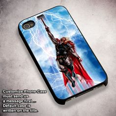 Thor God Thunder - For iPhone 4/ 4S/ 5/ 5S/ 5SE/ 5C/ 6/ 6S/ 6 PLUS/ 6S PLUS/ 7/ 7 PLUS Case And Samsung Galaxy Case