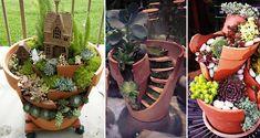 Určite sa Vám už stalo, že pri presádzaní rastliniek alebo pri hraní Vašich detí sa rozbil kvetináč, ktorý ste museli vyhodiť. Poztrite si nový trend v záhradníctve, prostredníctvom ktorého si skrášlite svoje záhrady, skalky... Plants, Plant, Planets