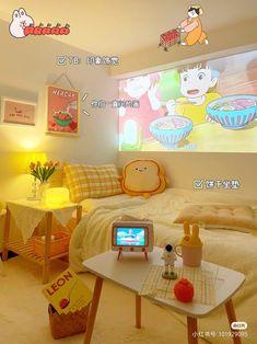 Modern Luxury Bedroom, Luxurious Bedrooms, Diy Room Decor Videos, Teen Room Designs, Room Design Bedroom, Bedroom Ideas, Pastel Room, Kawaii Room, Aesthetic Room Decor