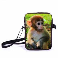 Brand Animal Dog Labrador Rottweiler Prints Bag Women Mini Messenger Bags Kids School Bags Girls Bookbag Travel Bag Best Gift