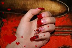 valentine's day nails | these nail art are especially for 2011 nail art