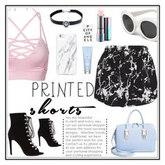 """Totes me"" by queenofself ❤ liked on Polyvore featuring Zimmermann, MAC Cosmetics, Child Of Wild, Opening Ceremony, Drybar and printedshorts"